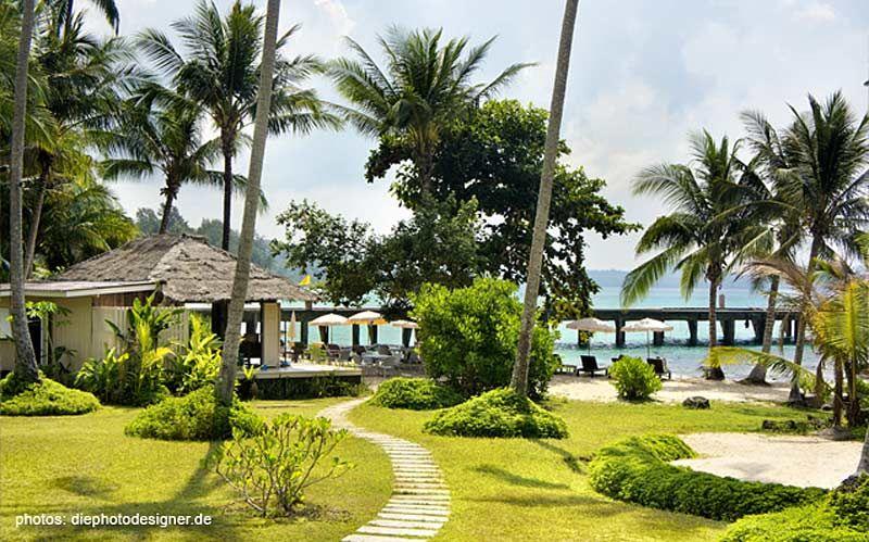 Beach Area @ Shantaa Resort Koh Kood (Thailand)