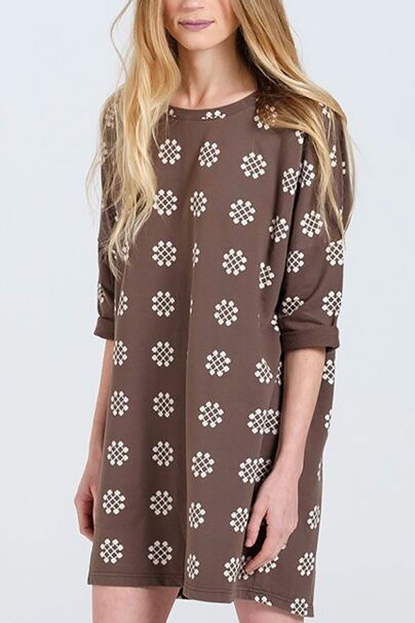 Rylee and Cru Womens Slouch Dress (Size SM)  2c687f9a3b