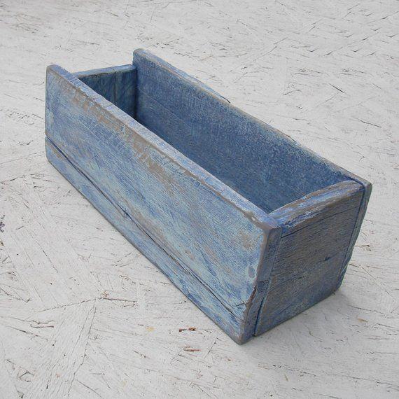 Rustic Beach Cottage Wood Box Weathered Denim Blue Paint OOAK Office Dorm Decor Primitive Folk Art Nautical Reclaimed Wooden Storage is part of Dorm decor Beach - 8  wide  This item is handmade by us out of primitive reclaimed wood, flaws in wood are expected and add to character of the piece  This is an hand made design by us  We make boxes in a variety of colors and sizes, they display well together, so check out our other items  I retain all copyrights  Amanda Chilaili Rain Not quite what you are looking for  We do custom work  just click on request a custom order and have something made just for you