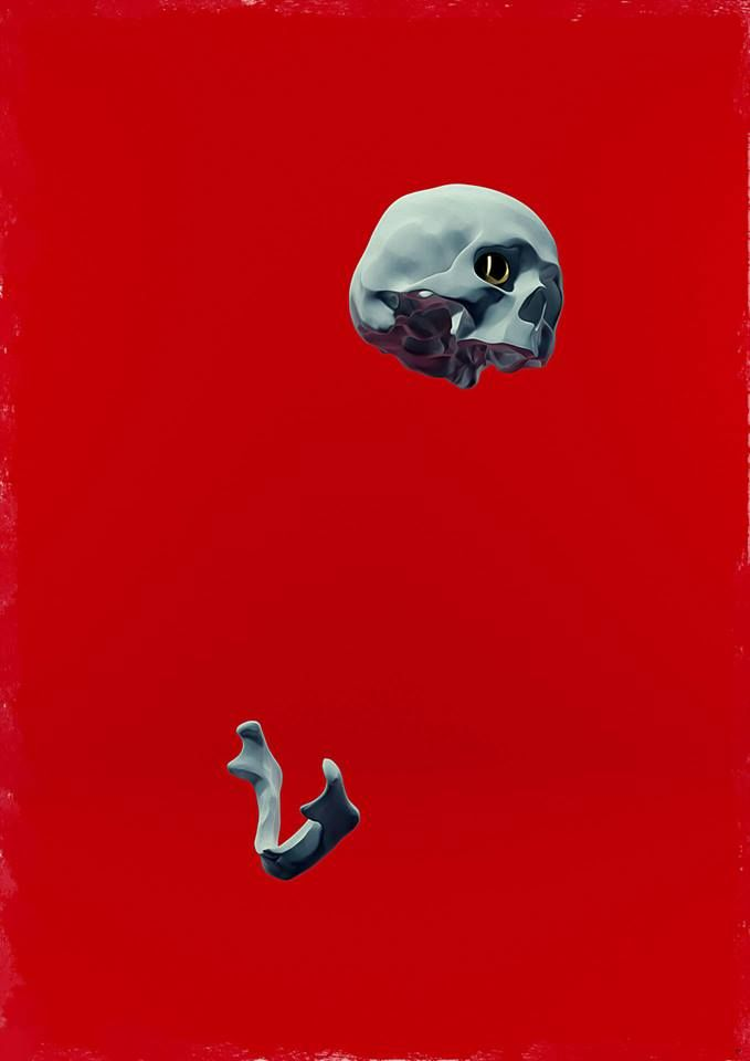 Hedi Xandt, Red Composition III (A Smack In The Face), oil and acrylic on canvas, 3 x 2 m, 2014