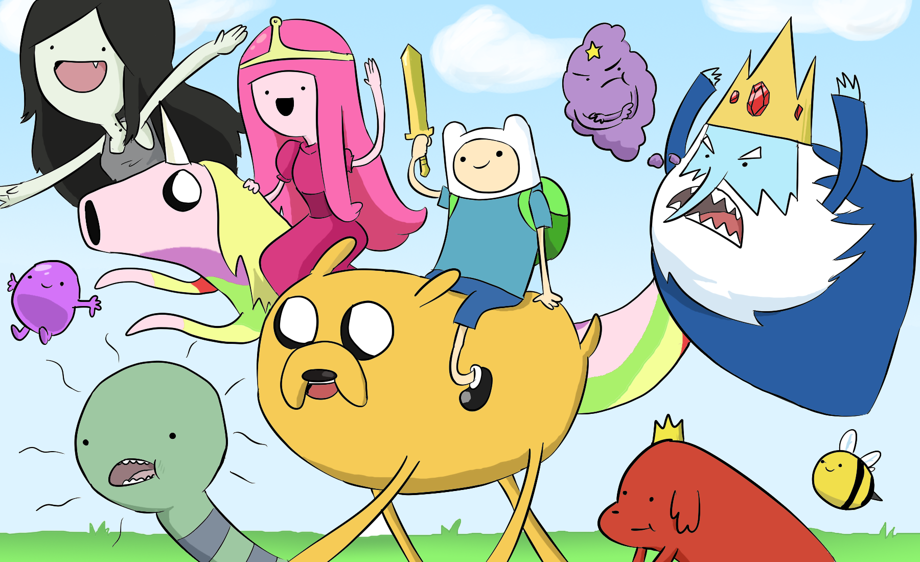 Adventure Time Chibi Png 1800 1100 Cartoons For Learning English Adventure Time Cool Cartoons