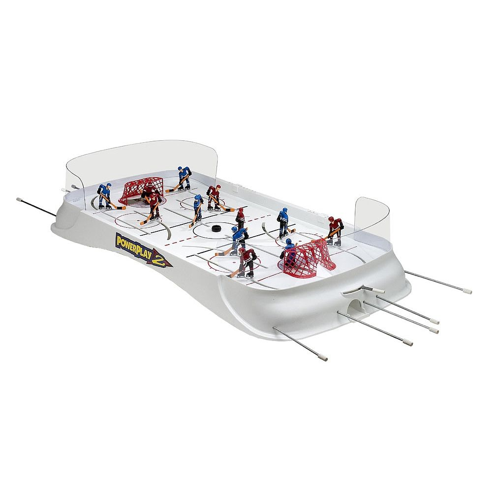 Someone bought this wwf superstars shoot out tabletop hockey game - Powerplay 2 Rod Hockey Game
