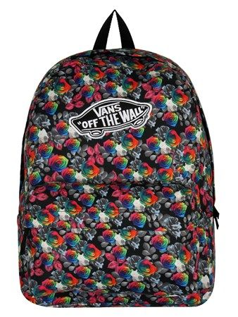 acafe7092b Rainbow Rose Vans Realm Backpack
