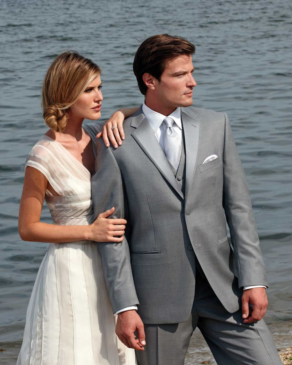 Love the idea of a grey tux i want a mint green u white wedding