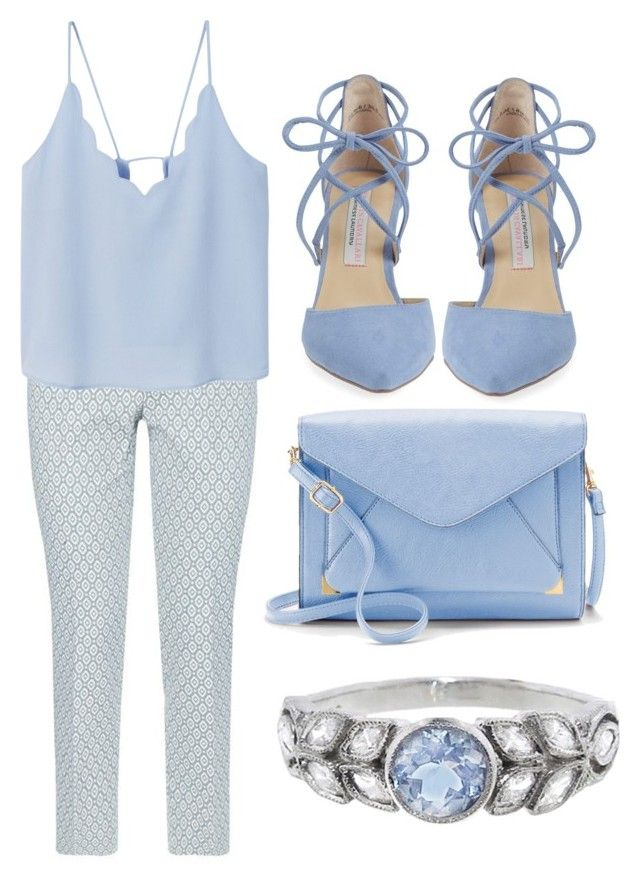 """Icy Cool"" by thelunaluchicloset ❤ liked on Polyvore featuring Weekend Max Mara, MANGO, Kristin Cavallari, Apt. 9 and Cathy Waterman"