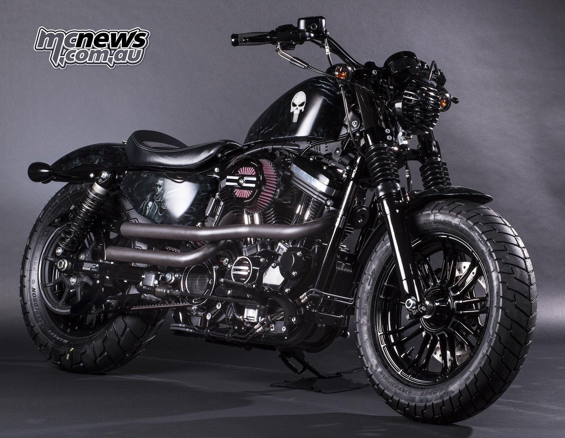 Harley-Davidson Marvel Super Hero Customs | MCNews.com.au