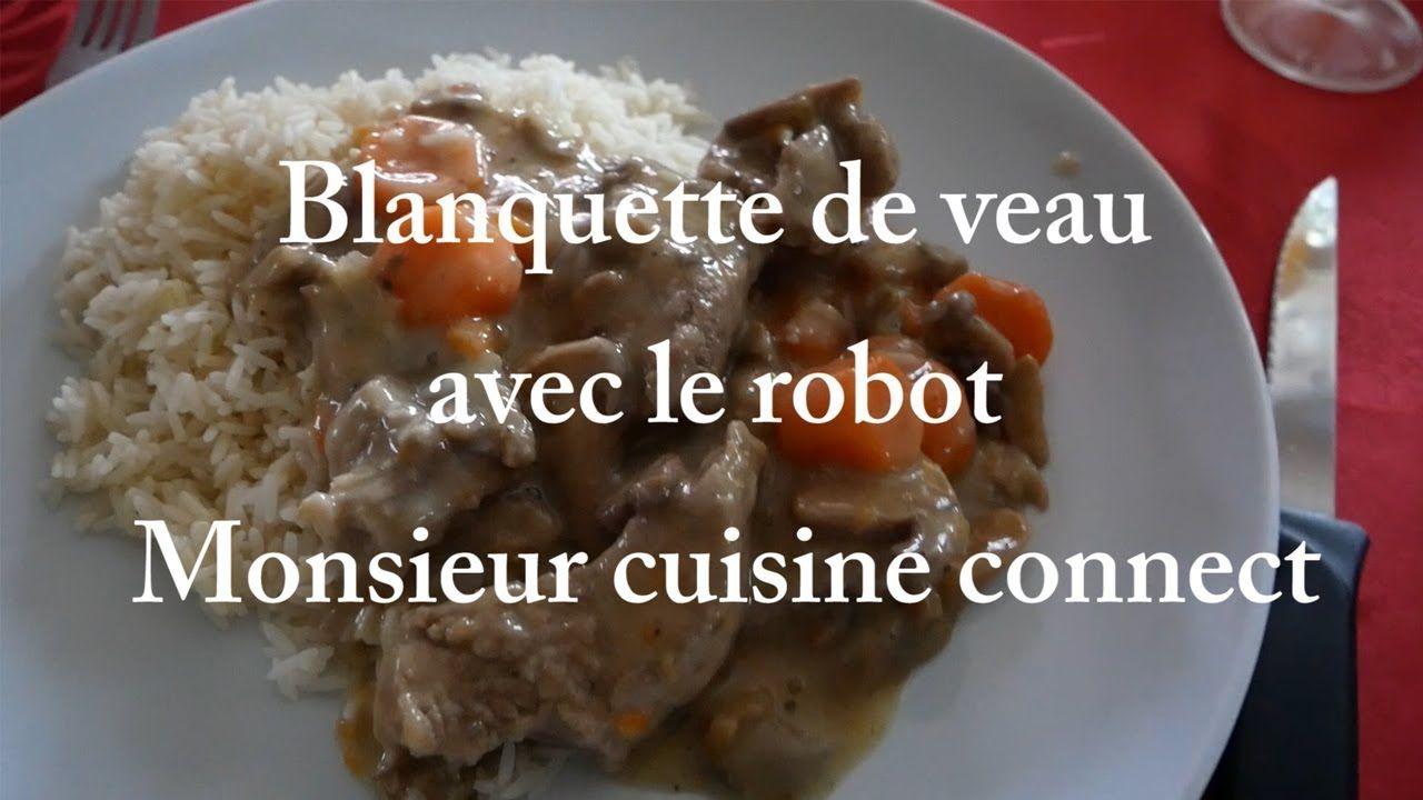Recette Blanquette de Veau au Monsieur Cuisine Connect Silvercrest