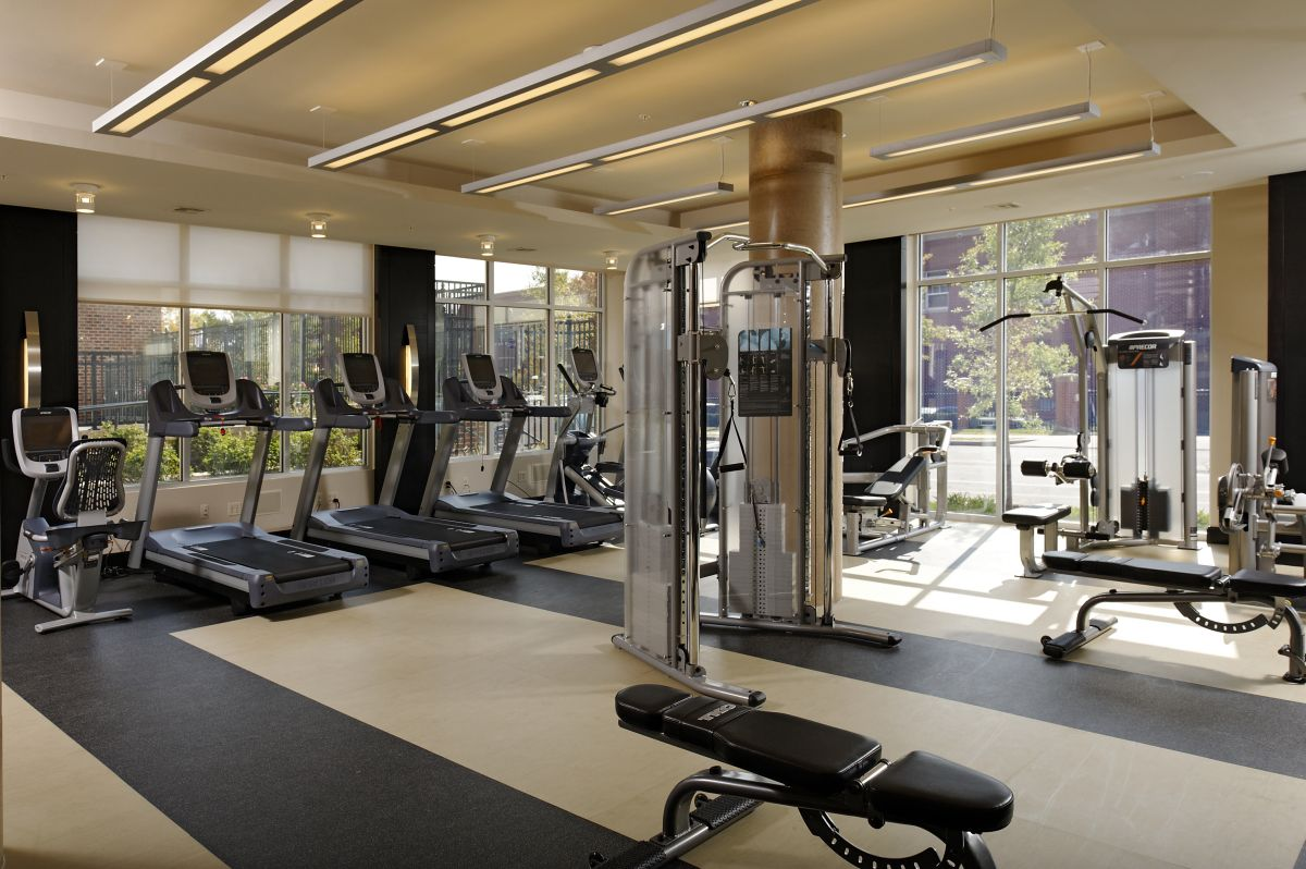 Interior Layout Pictures Fitness 58