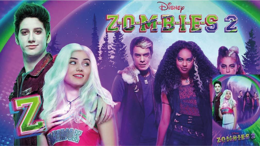 Zombies 2 Pelicula Online Fullhd Movies Zone X Peliculas Online Zombie Disney Zombie 2 Zombie