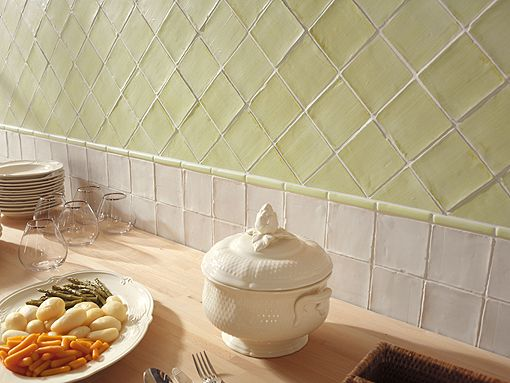Azulejo rústico para cocina Azulejos Pinterest Kitchens