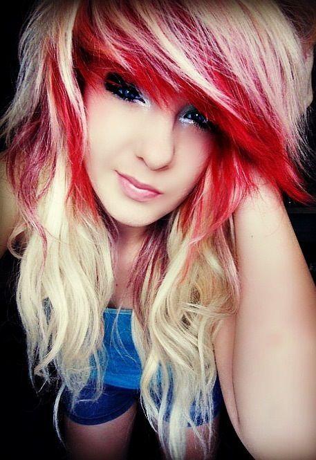 Pin By 75sw On Beauty Hair Styles Scene Girl Hair Alternative Hair