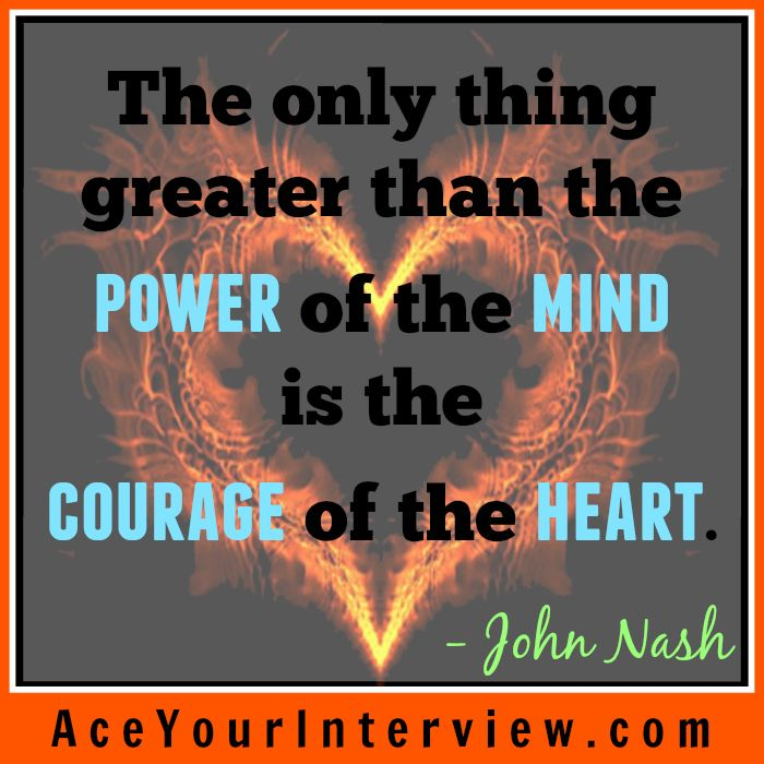 JohnNash #Motivation #Inspiration #Quote - #Courage of the heart - linkedin resume search
