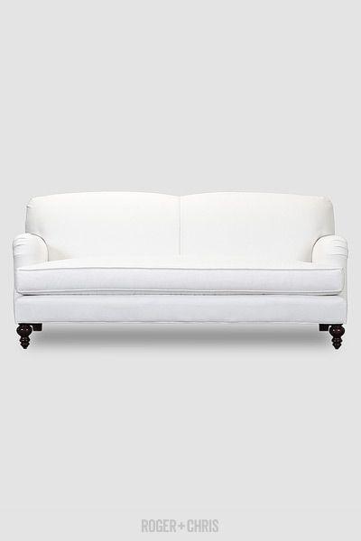 Back English Roll Arm Sofas