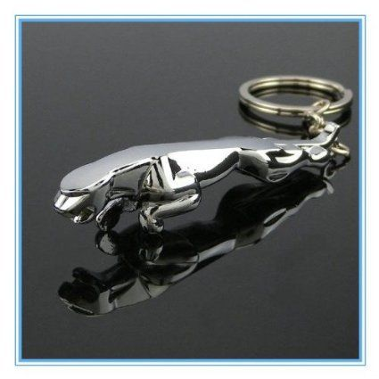 Jaguar Car Logo Luxury Metal Key Chain Buy Jaguar Car Logo Luxury