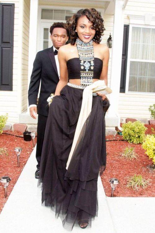 Black Girls Going To Prom Tumblr Prom Looks Pinterest