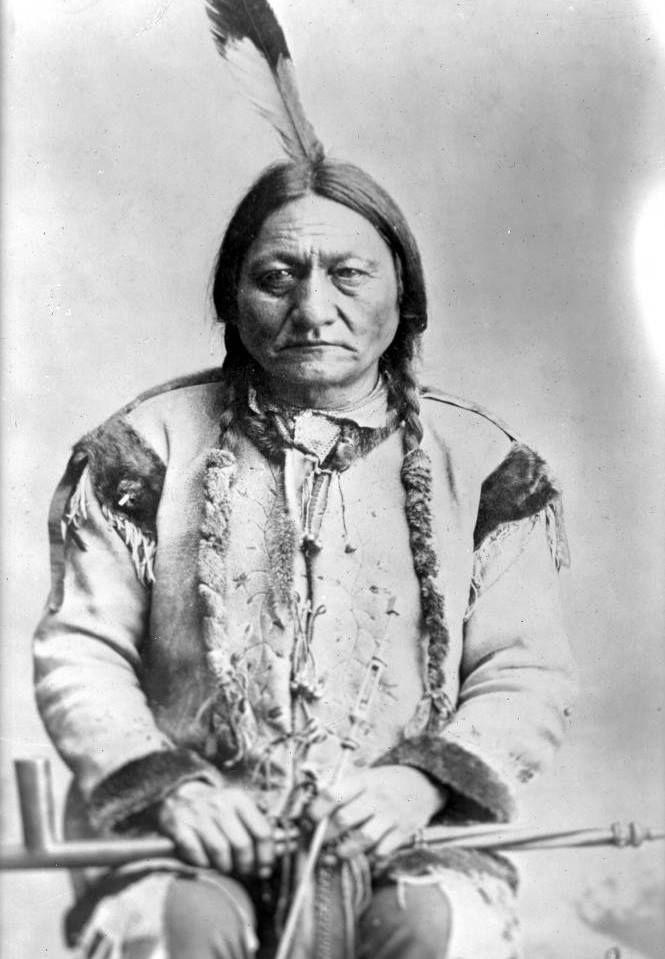 SITTING BULL native american indian us movie tee NEW Boys Girls Kids T SHIRT TOP