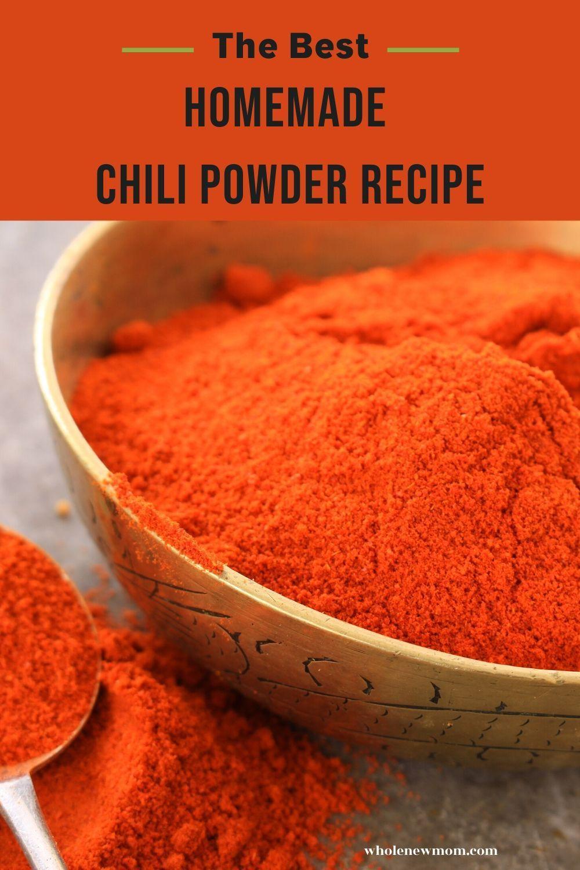 The Best Chili Powder Recipe Made With 6 Simple Ingredients Recipe Chili Powder Recipe Powder Recipe Homemade Chili Powder