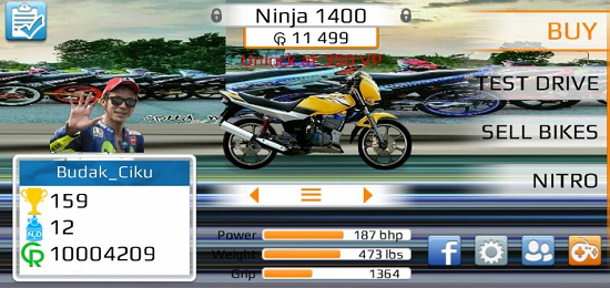 Download Drag Bike Malaysia Mod Apk 201m By Budak Ciku Olahraga