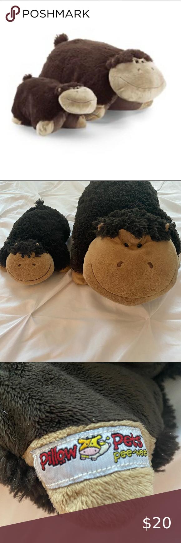 animal pillows monkey plush monkey pillow
