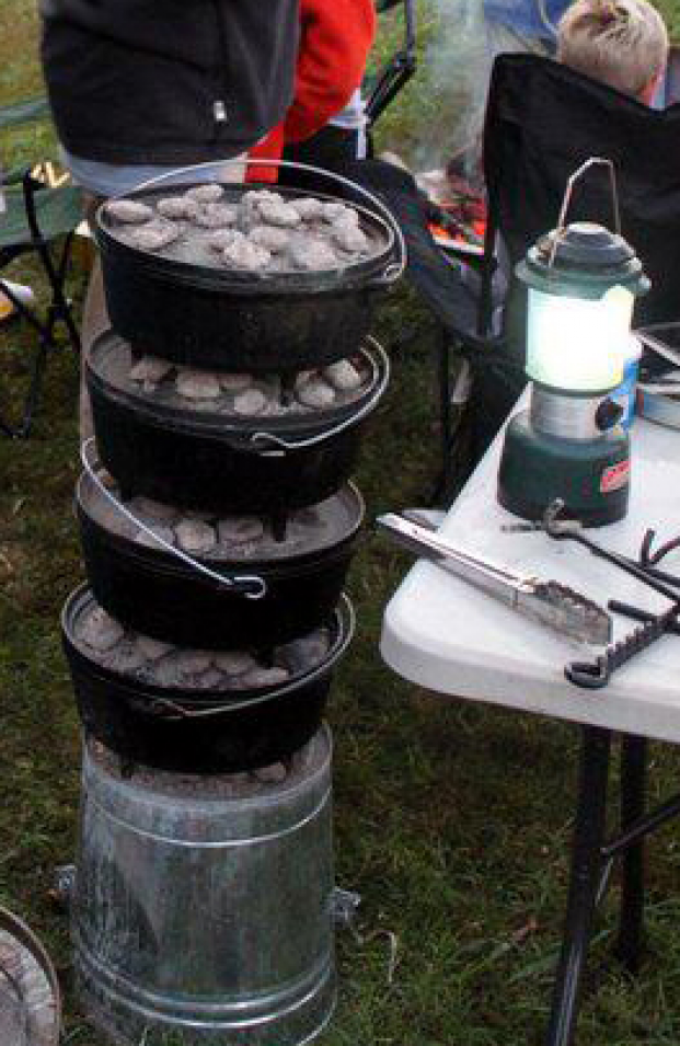 Backpacking, Camping and Dutch Oven Recipes