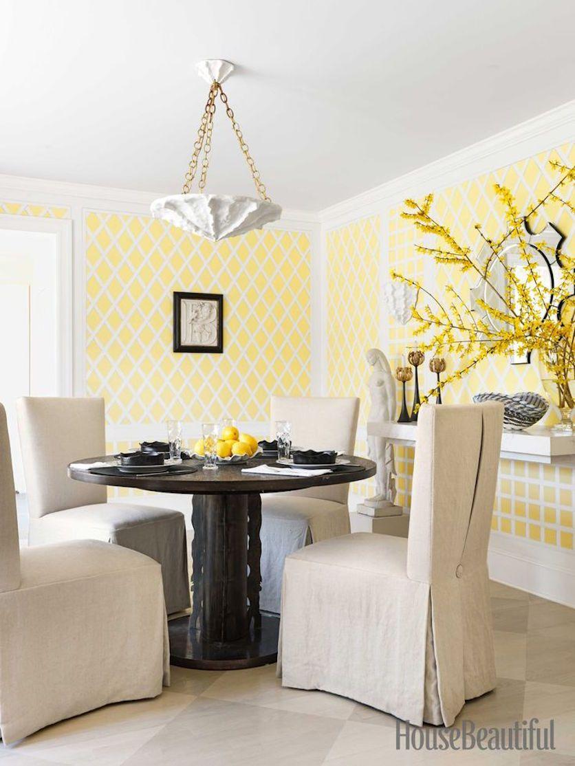 Yellow Melon Hues Designer Ann Pyne of McMillen Inc