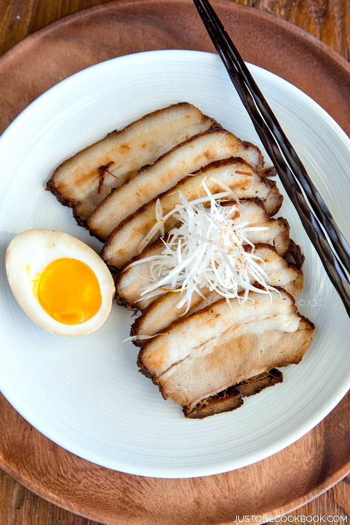 Chashu Japanese Braised Pork Belly Recipe Chashu