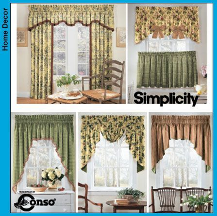 Free Printable Valance Sewing Patterns | SIMPLICITY WINDOW PATTERNS ...