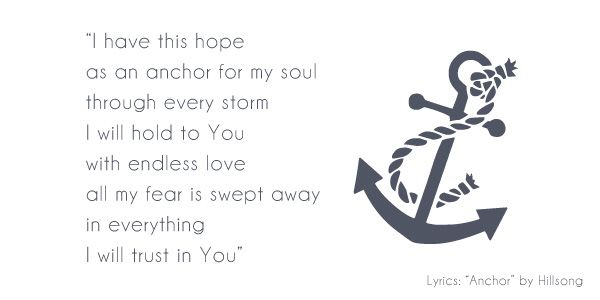 Anchored.   The Imperfect Princess #themendedheart #anchored #theimperfectprincess