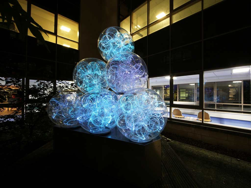British Artist Bruce Munro Is Best Known For Immersive Large Scale Light Based Installations