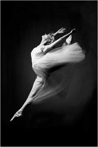 Art print ballerina grace in motion 24x36 poster printamazonhome kitchen