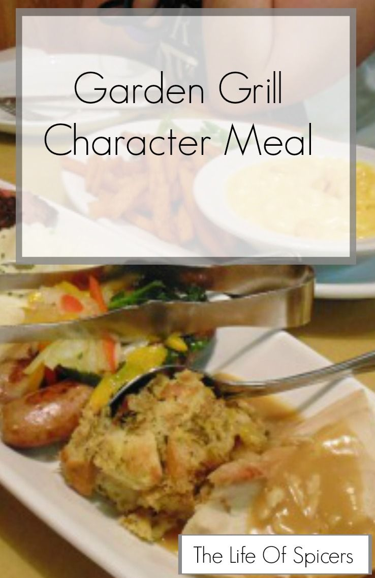 Garden Grill Character Dinner | Pinterest | Epcot, Walt disney and ...