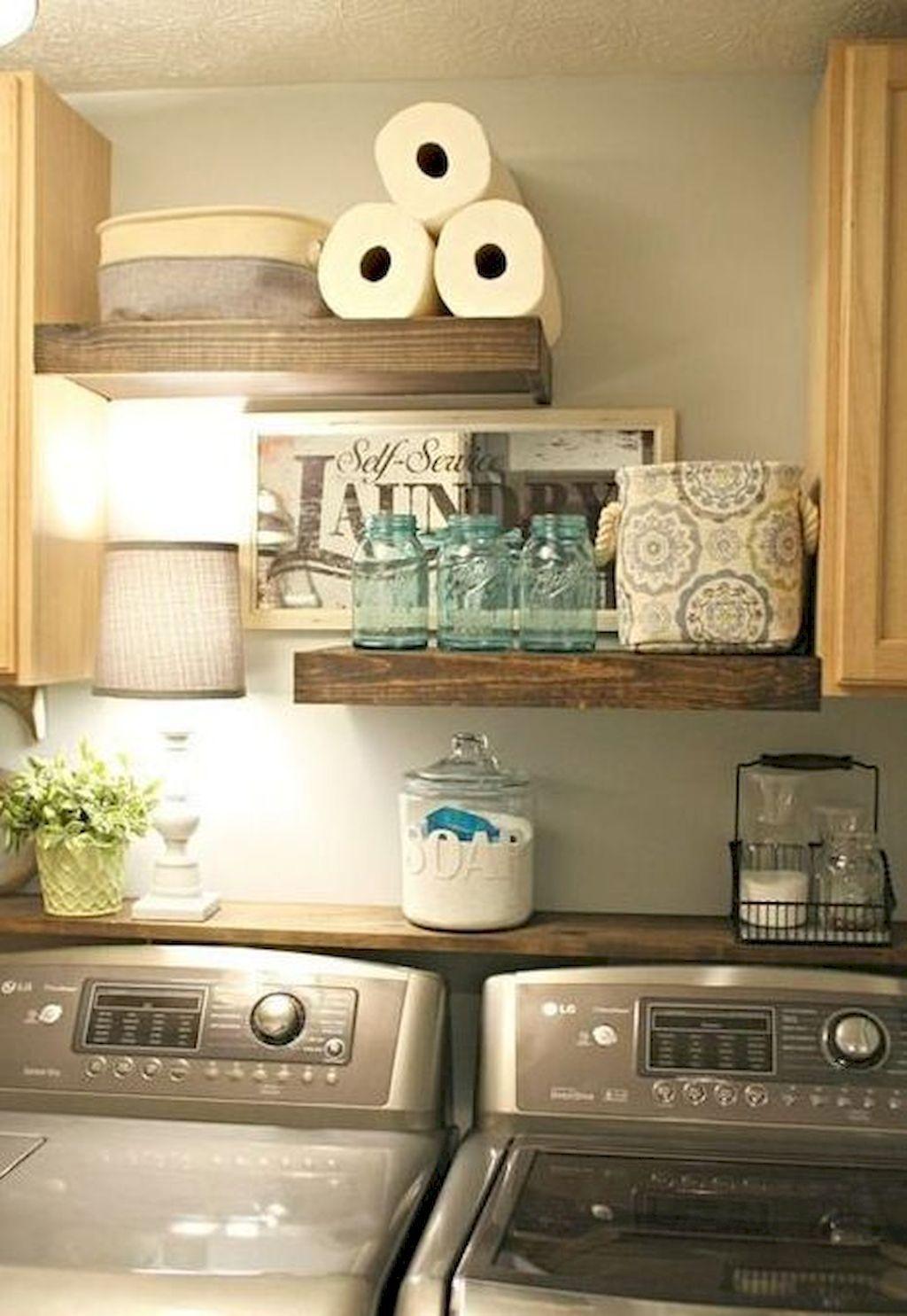 Rustic Farmhouse Laundry Room Decor Ideas 50 Laundry Room