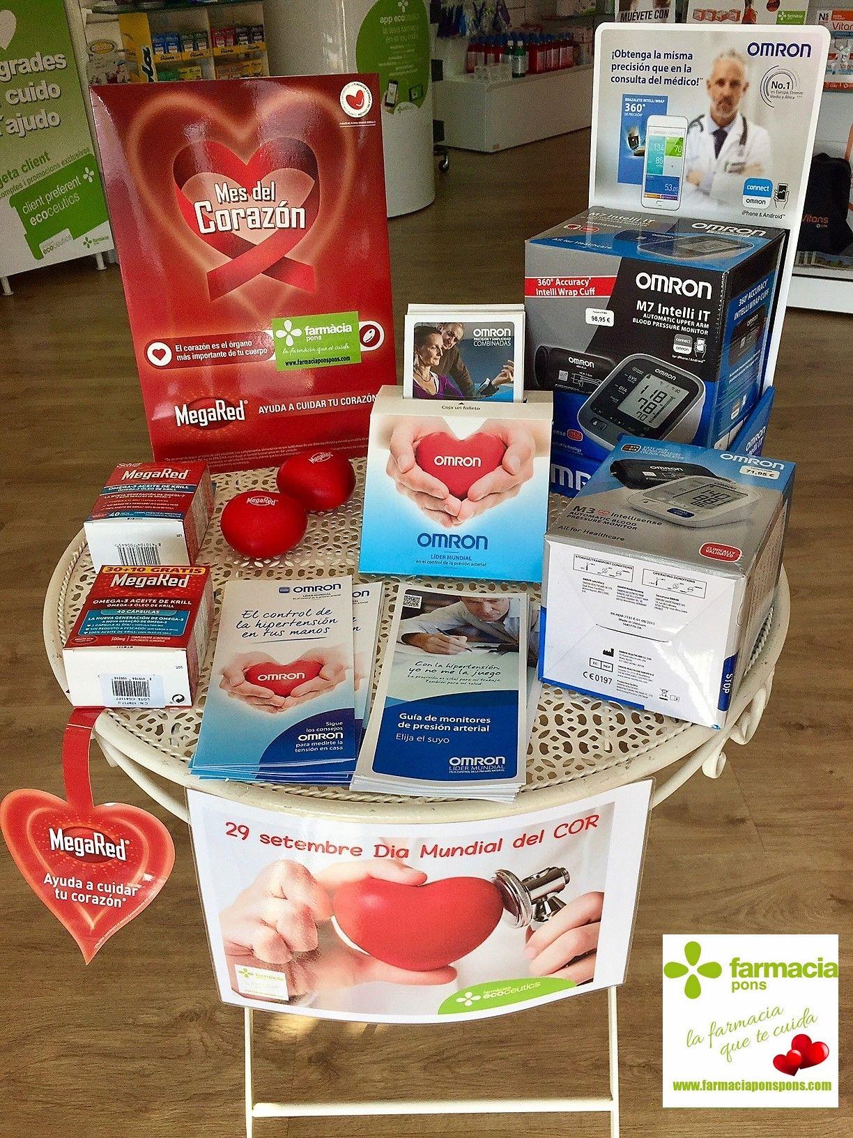 Semana del Corazón en Farmacia pons Tgna. Septimebre 2017 www.farmaciaponspons.com