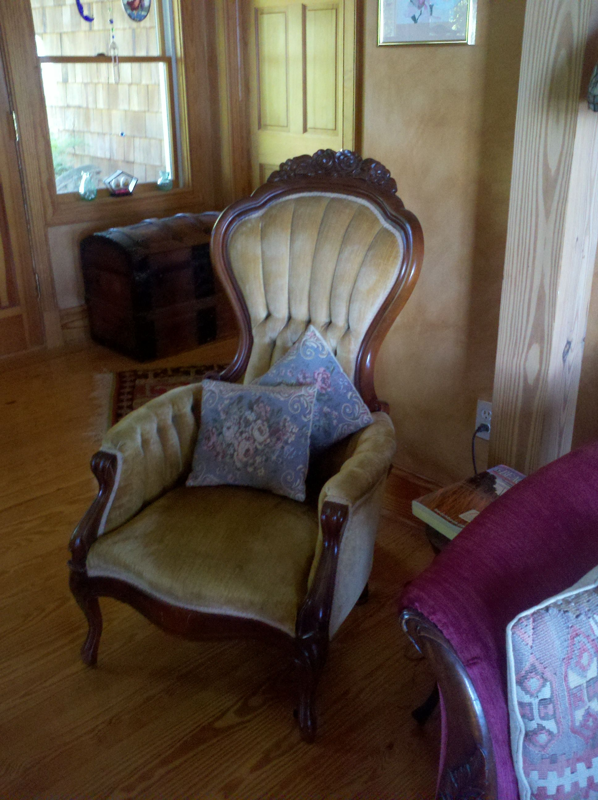 We Have A Great Victorian Couch In The Same Style And Fabric As This One!