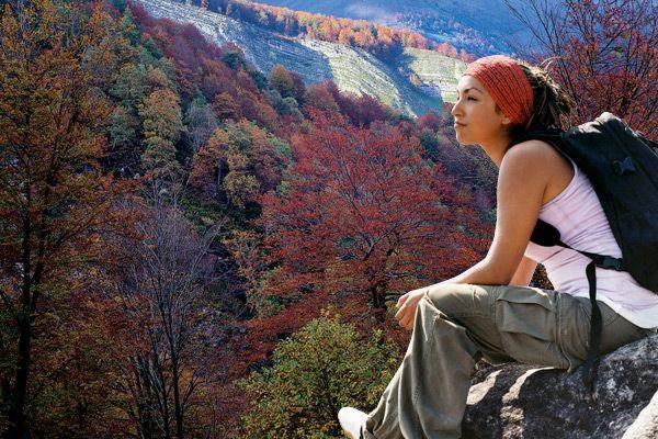 Disfrutar del paisaje en otoño en #Cantabria #Spain