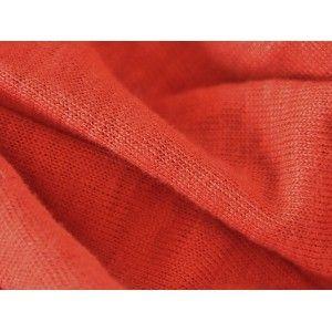 Lin-Jersey en rouge