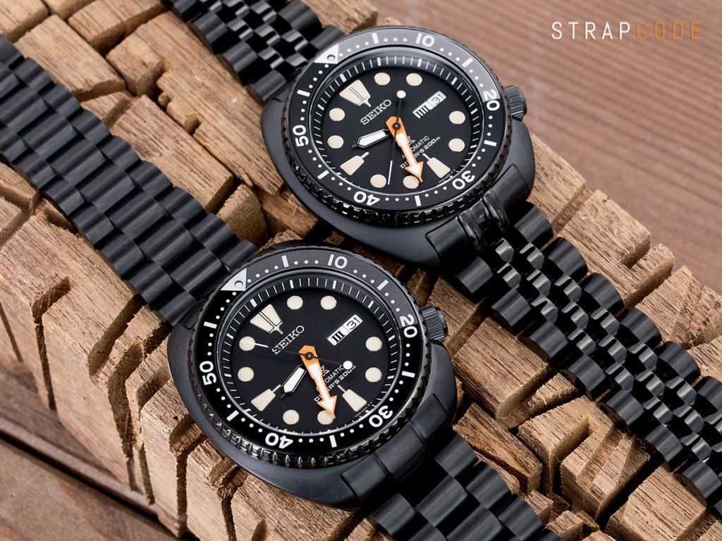 seiko black turtle