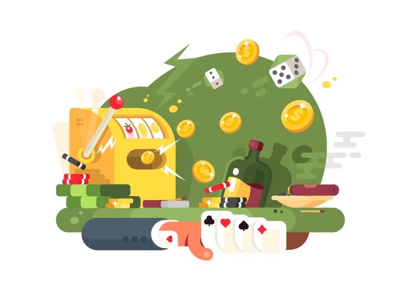 Gambling games by Anton Fritsler (kit8) - Dribbble