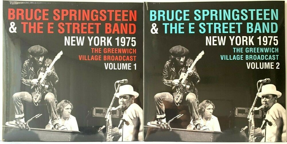 Bruce Springsteen New York 1975 Greenwich Village Vol 1 2 Lp Vinyl Record Lot Springsteentheriver In 2020 New Vinyl Records Bruce Springsteen Springsteen The River
