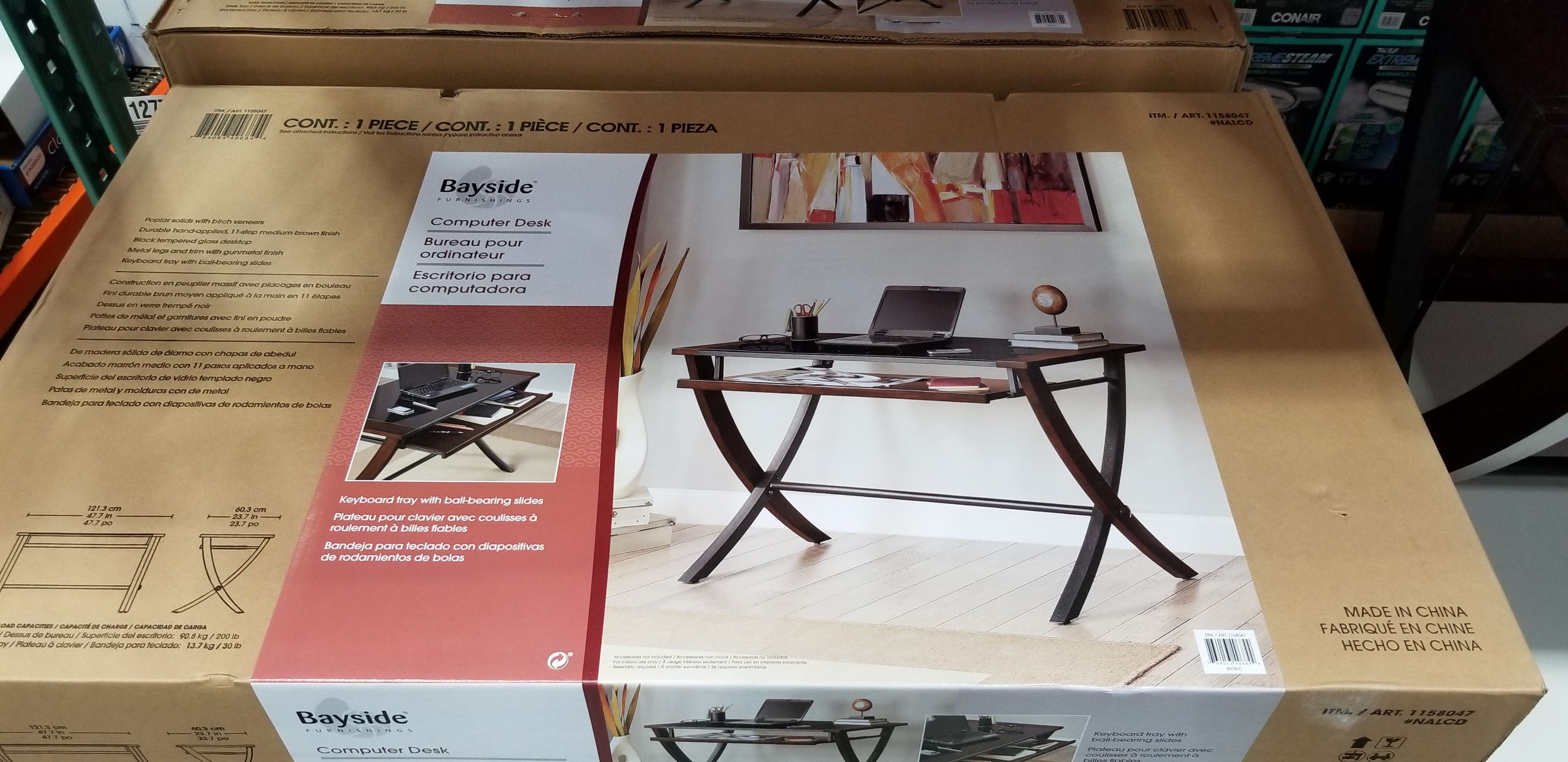 Costco Members Bayside Furnishings Desk 49 97 Https
