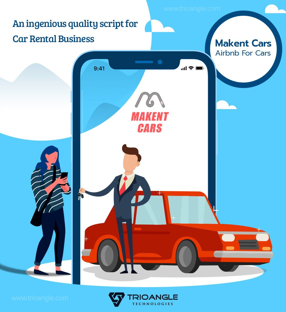 Airbnb For Car   Trioangle MakentCars - Airbnb for cars   Car rental