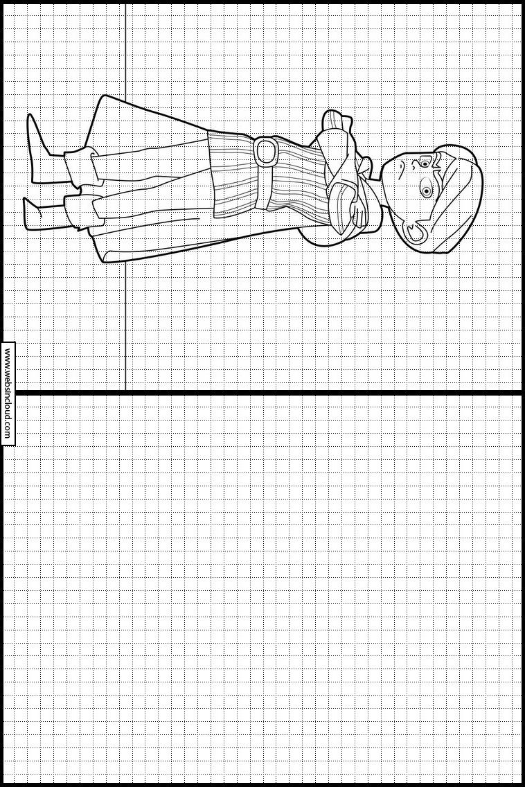 Robin Hood 4 Learn to draw. Printable activities for kids