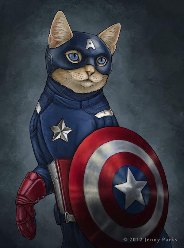 Al igual que un gracioso florero, un gato, incluso inmóvil, parece flotar - George F. Will