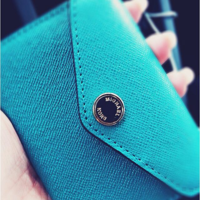 Michael kors business card holder coin case in teal 3 stuff i michael kors business card holder coin case in teal 3 colourmoves