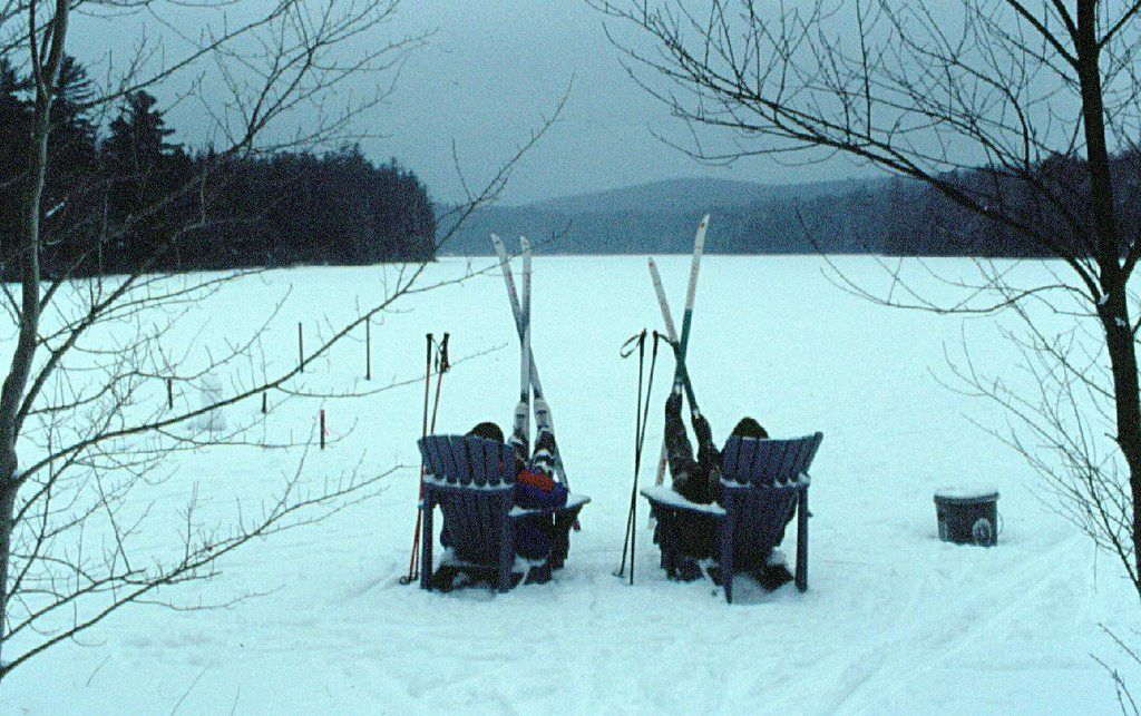 Cross-country Skiing at Lapland Lake - Lapland Lake Nordic Vacation Center located near Northville, NY in the Town of Benson just 60 miles from Albany.