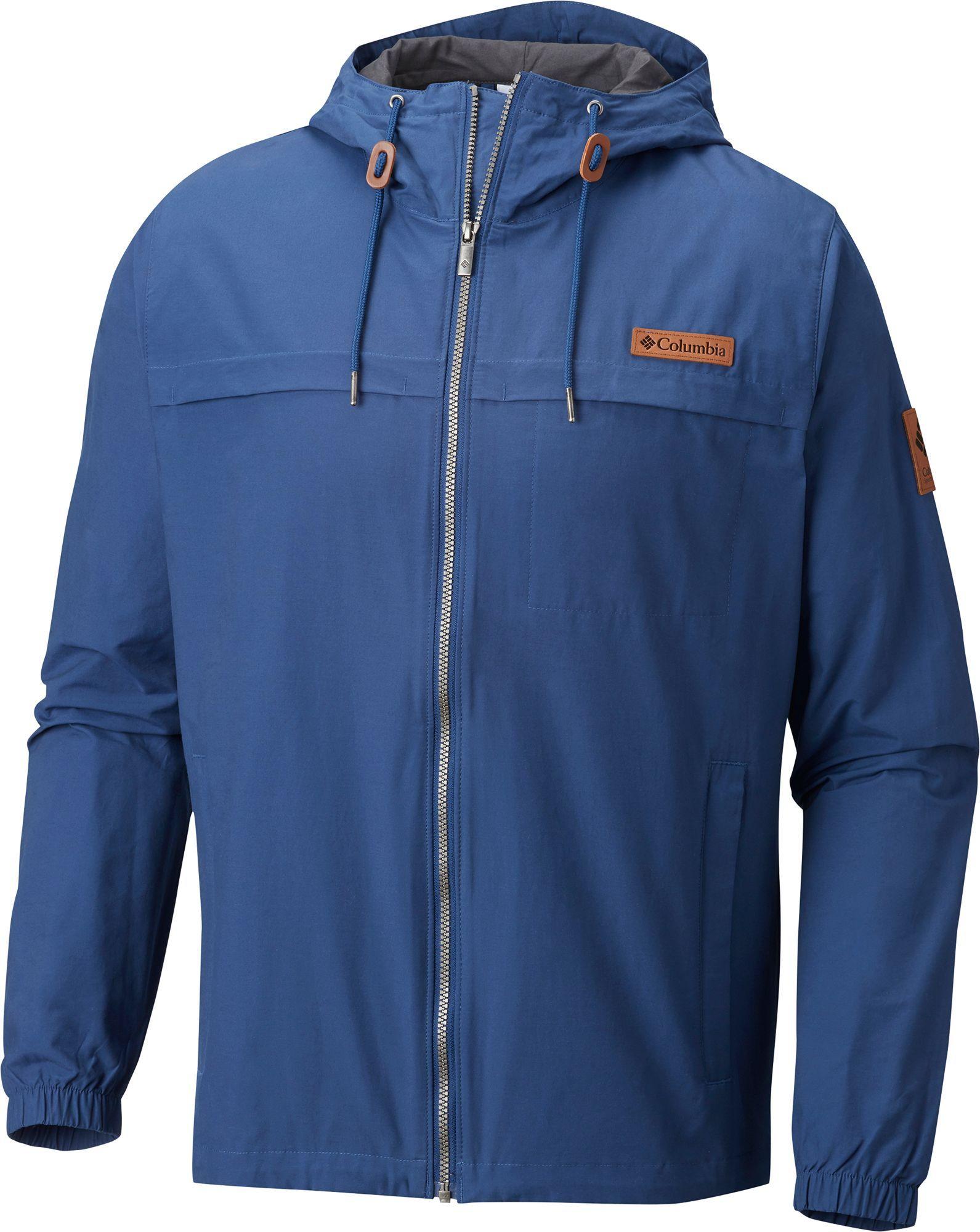 Columbia Mens Rockwell Falls Casual Windbreaker Athletic-Shell-Jackets