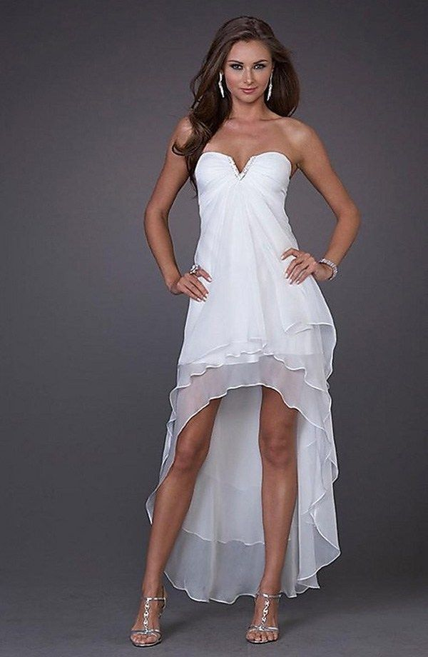 Casual Short Beach Wedding Dresses With Images Short Wedding