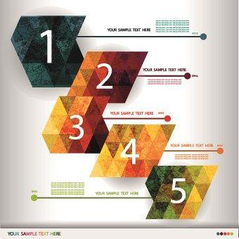 Business Infographic creative design 434 vector