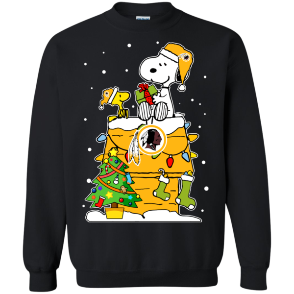 Washington Redskins Ugly Christmas Sweaters Snoopy Hoodies Sweatshirts 353970cd9