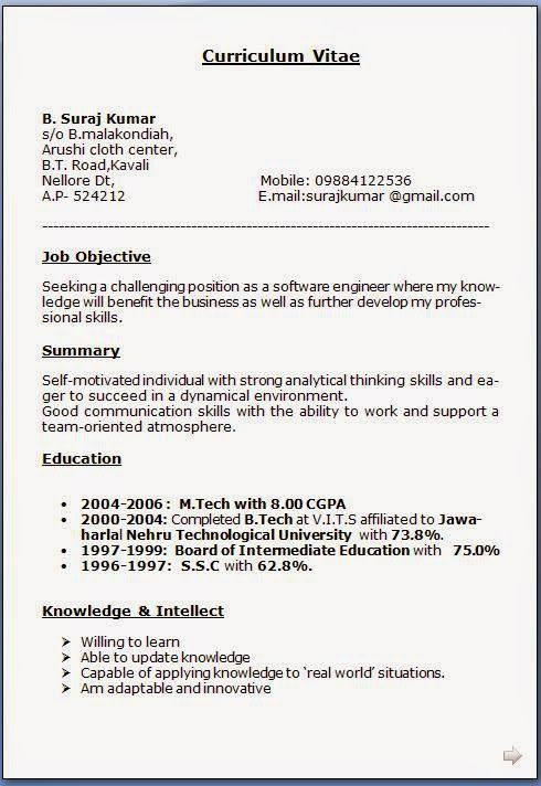 How To Make Your Own Resume Sample Template Excellent Curriculum